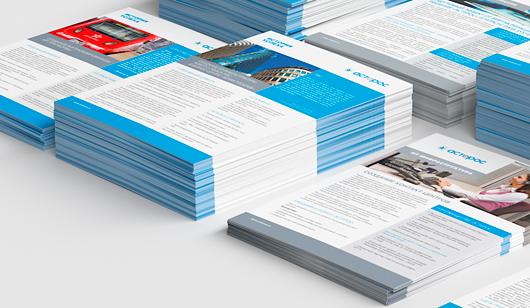 Дизайн листовок Астерос